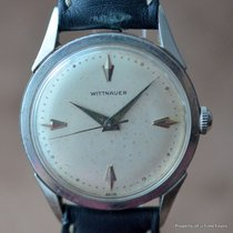 Wittnauer 1950's MANUAL WINDING 34MM STAINLESS STEEL Ref...