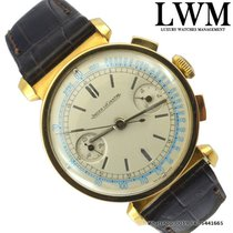 Jaeger-LeCoultre Chronograph yellow gold 18KT caliber 285 Very...