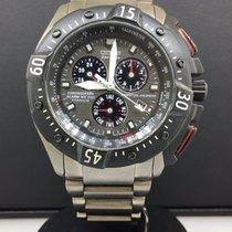 Citizen Eco-drive Titanium Perpetual Calendar Chronograph...