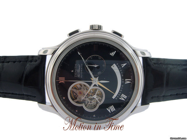 Zenith CHRONOMASTER XXT OPEN STAINLESS STEEL POWER RESERVE - 45mm