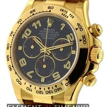 Rolex Daytona 18k Yellow Gold Blue Dial Ref. 116518