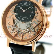 Breguet La Tradition Manual Wind 40mm, Black / Skeleton Dial -...