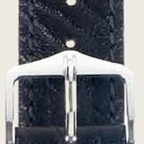 Hirsch Uhrenarmband Leder Highland schwarz L 04302050-2-22 22mm