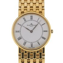 Baume & Mercier Classima 32 White Dial Yellow Gold Ladies...