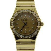 Omega Constellation 18ct Yellow Gold My Choice Mini 11.67.1500