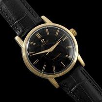 Omega 1961 Seamaster Vintage Mens Handwound Watch - 18K Gold...