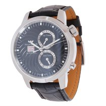Glycine BRAND-NEW AIRMAN SEVEN 3-TIME ZONE STEEL AUTO 3919.19....