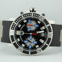 Ulysse Nardin Maxi Marine Diver Chronograph On Rubber Strap...