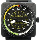 Bell & Ross Aviation BR 01 Automatic Watch BR01-92-AIRSPEED