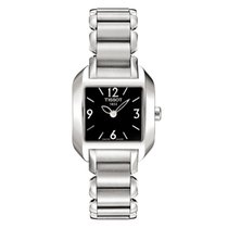 Tissot T02.1.285.52 Black Dial Women's Steel Watch
