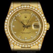Rolex Day Date 100 % Original String Diamond Dial &...