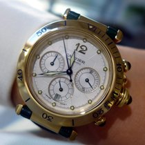 Cartier Pasha Automatic Yellow Gold Chronograph - 2111