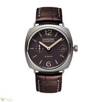 Panerai Radiomir 8 Days Titanium Leather Men's Watch