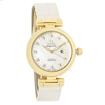 Omega Deville Ladymatic Diamond 18K Yellow Gold 425.63.34.20.5...