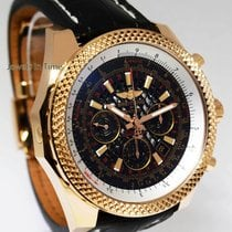 Breitling Bentley 18k Rose Gold Chronograph Watch Box/Papers...