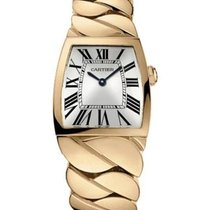 Cartier W640040I La Dona de Cartier 27mm in Red Gold - on Red...
