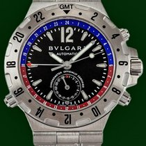 Bulgari Diagono 40mm Automatic GMT Stainless Steel