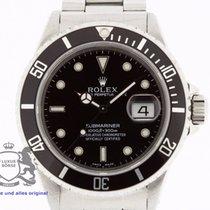 Rolex Submariner 16610 Box & Swiss Papers 1994 TRITIUM