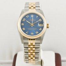 Rolex Lady-Datejust 68273 (Midsize) Blue Rolex Face Box &...