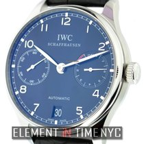 IWC Portuguese Collection Automatic 7-Day Power Reserve Black...