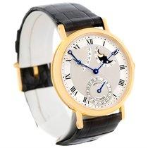 Breguet Classique Power Reserve 18k Yellow Gold Watch 3137