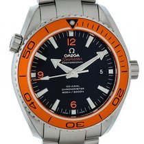 Omega Seamaster Planet Ocean 600m Co-Axial Stahl Automatik 46mm