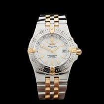 Breitling Starliner Mother of Pearl Dial Stainless Steel/18k...
