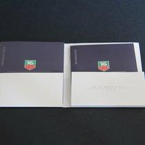 TAG Heuer Instructions 6000 Quartz Booklets