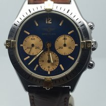 Breitling CALLISTO CHRONO STEEL GOLD AUTOMATIC BLUE DIAL