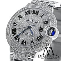 Cartier Ladies Diamond Cartier Ballon Bleu W69012z4 Automatic...