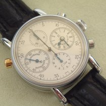 Chronoswiss Rattrapante Chronograph CH 7323 alle Papiere Top...