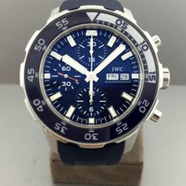 IWC Aquatimer Chronograph Stainless Steel Blue Dial  44mm