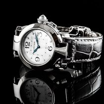 Cartier Montres Pasha 32mm 18 Karat Wg 8 Diamanten