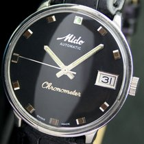 Mido Ocean Star Chronometer Automatic Date Steel Mens Watch