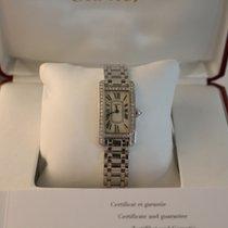 Cartier Tank Américaine WHITE GOLD DIAMONDS