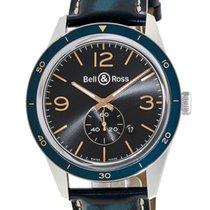 Bell & Ross Vintage Men's Watch BRV123BLU-ST/SCA