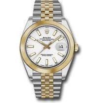 Rolex Datejust 41mm Stainless Steel and Yellow Gold 126303...