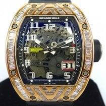 Richard Mille RM029  Rose Gold With Full Baguette Diamond