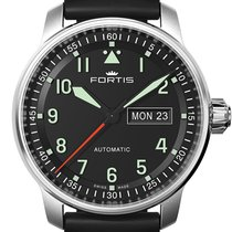 Fortis FLIEGER PROFESSIONAL DAY/DATE - 100 % NEW - FREE SHIPPING