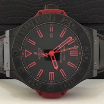 Hublot Big Bang King All Brack Red Ceramica 48mm 500 peças