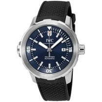 IWC Aquatimer Automatic Expedition Jacques-Yves Cousteau Blue...