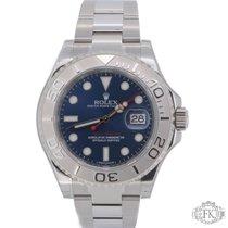 Rolex Yacht-Master 40mm   Blue Dial Steel, Platinum Bezel  ...