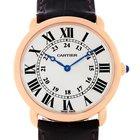 Cartier Ronde Louis 18k Rose Gold Mens Watch W6800251