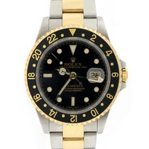 Rolex GMT-Master II 2-Tone Gold/Steel Mens Watch 16713