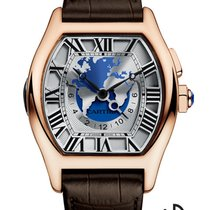 Cartier Tortue Multi-Time-Zone
