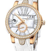 Ulysse Nardin Executive Dual Time in Rose Gold with Diamond Bezel