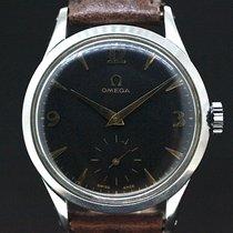 Omega Handaufzug Black Dial Cal.266 Anno 1952