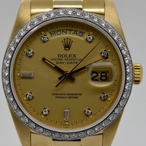 Rolex Day-Date, Gold-Cream-Dial, Ref. 18048, Bj. 1982