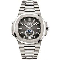 Patek Philippe Nautilus Stainless Steel Black Dial Watch