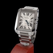Cartier Tank Anglaise XL Steel Automatic